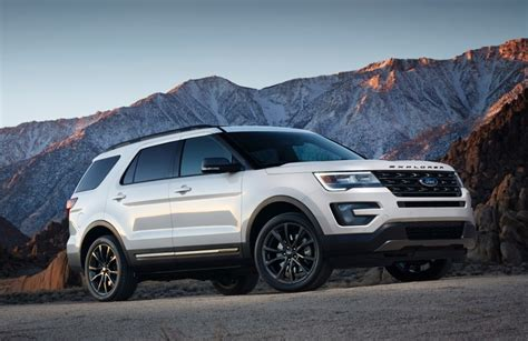2018 ford explorer release date spy shots price specs