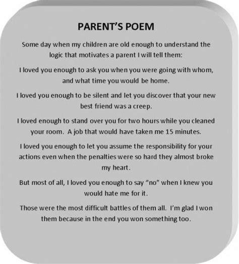 poems for parents 25 best images about poems on single parent