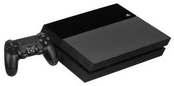 console inf playstation 4