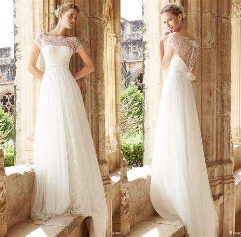 Garden Chic Attire For Wedding Raimon Bundo 2016 Wedding Dresses Garden Lace Sheer Capped