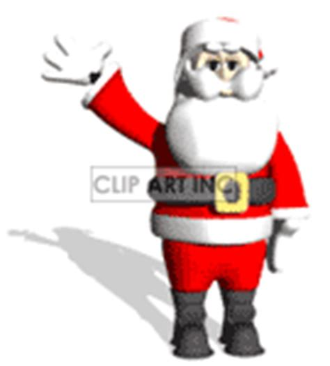 anmated waving snata waving clip vector clipart royalty free images 1
