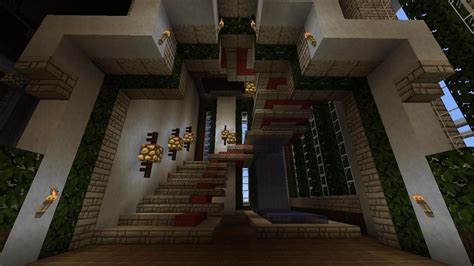 Minecraft Stairs Design Staircase Design By Minecraft Cribs On Deviantart