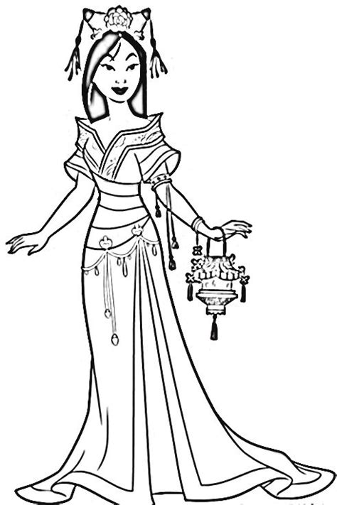 princess coloring pages mulan 37 best disney mulan images on pinterest