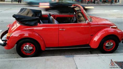red volkswagen convertible convertible red 76 vw beetle