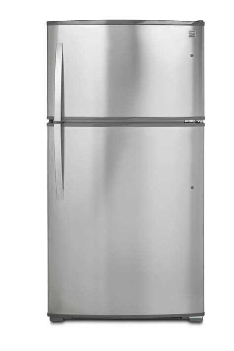 kenmore   cu ft top freezer refrigerator  ice