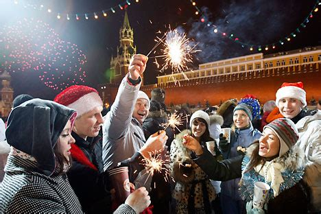 happy new year 2014 and how russians celebrate new year