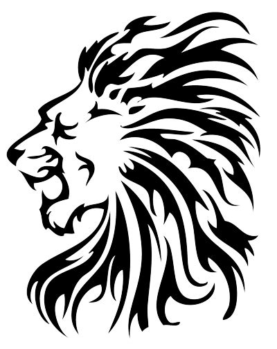 lion tattoo transparent png stickpng free png transparent images free