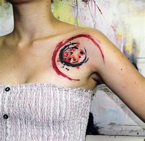 watercolor moon tattoo designs 25 creative watercolor designs entertainmentmesh