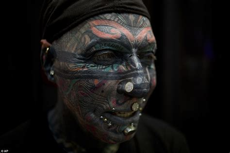 tattoo convention germany israel tattoo convention sees fans from all over the world
