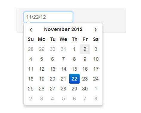 datepicker date format change javascript datepicker for twitter bootstrap jquery plugins