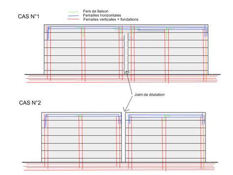 Construire Un Mur De Cloture 4067 by Mur De Cloture Joints De Dilatation Et Ceinture Haute