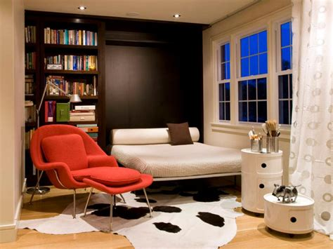 Bookshelves For Small Bedrooms by 12 Ways To A Bedroom Murphy Bed Designs Hgtv