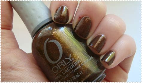 Orly Buried Alive annabelclaire and lifestyle nail of the day orly buried alive