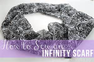 Make An Infinity Scarf How To Sew An Infinity Scarf Sew Woodsy
