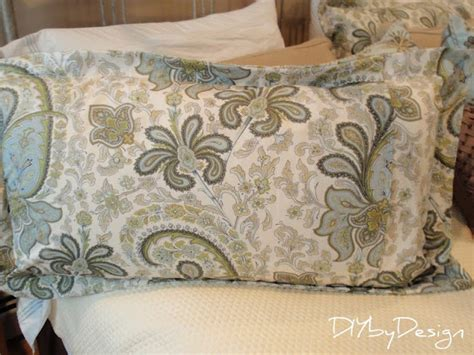 what size pillow for sham diy by design how to make a king size pillow sham