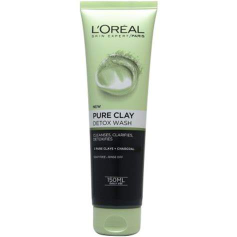 L Oréal Detox by L Oreal Clay Detox Wash 150ml Skin Care Allcures