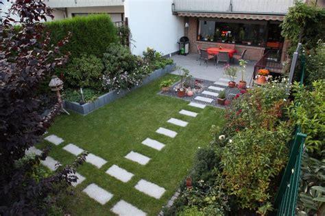 Garten 150 Qm by Reihenhaus Garten Nach Der Fertigstellung