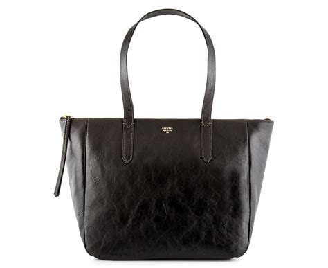 Fossil Sydney Shopper Original Bag Tas Ori Authentic fossil s leather sydney shopper black ebay