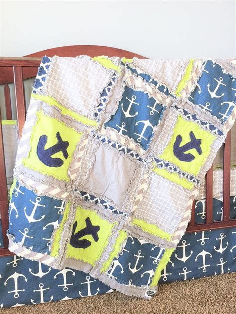 17 best ideas about nautical crib bedding on