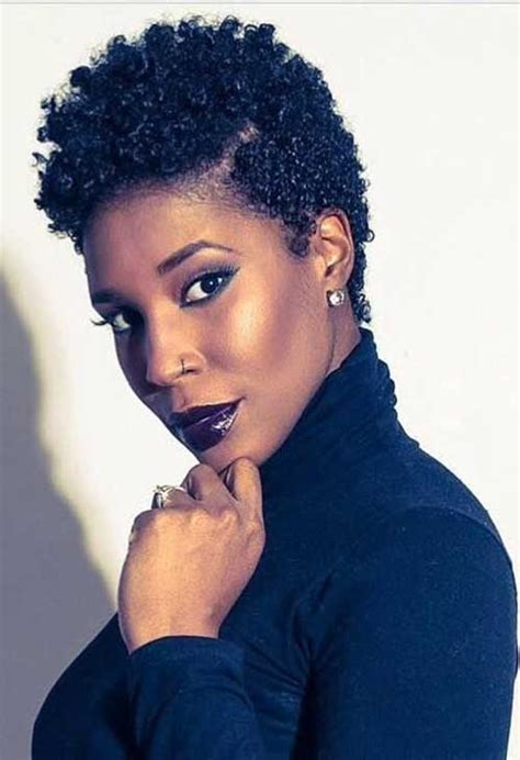 short cut for natural hair 15 best short natural hairstyles for black women short