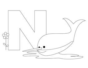 n color free printable alphabet coloring pages for best