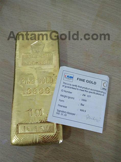 Kalung Emas Kadar 98 sejarah cetakan emas logam mulia pt antam tbk indogold support