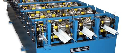 Metal Plant Stand by The Bradbury Group Trim Roll Forming Machines