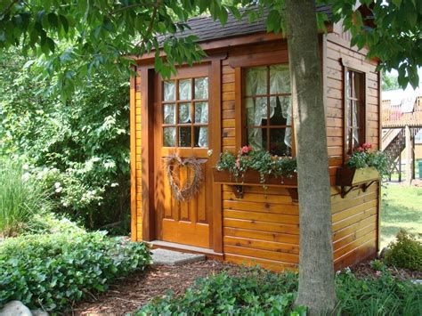 mary anns small potting garden shed turned