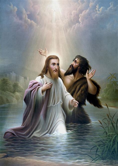 Online Store For Home Decor by John The Baptist Baptizes Jesus Christ Painting By War Is