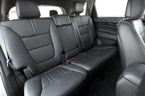 How Many Seats In A Kia Sorento 2014 Kia Sorento Rear Seats Photo 71861054 Automotive