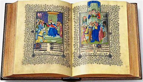 delle ore un libro ha il potere di affascinare il manoscritto miniato