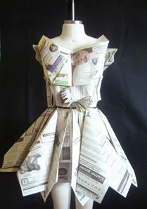 How To Make A Dress Out Of Paper - dresses made out of paper
