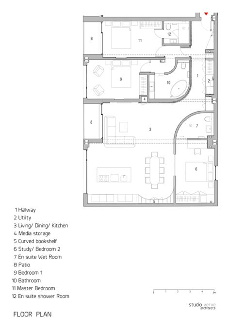 studio loft apartment floor plans redchurch loft apartment studio verve architects archdaily