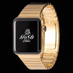 Apple Series 4 24k Gold by 24k Gold Apple 40mm With Polished Link Bracelet Series 4 Ebay