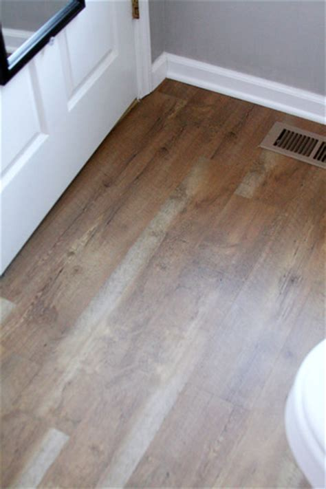 water resistant bathroom flooring budget friendly master bath makeover gloria zastko
