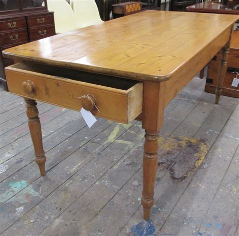 victorian pine kitchen table antiques atlas