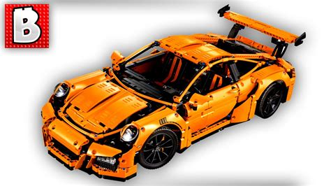 porsche lego set lego technic porsche 911 gt3 rs set 42056 unbox build