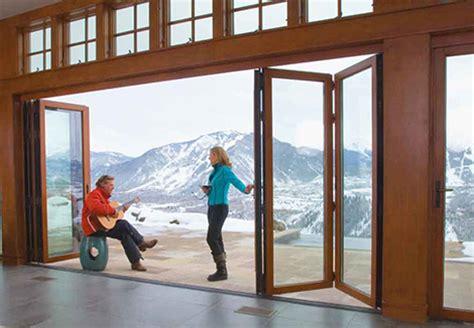 Modern Sliding Glass Doors Exterior Nanawall Modern Folding Doors