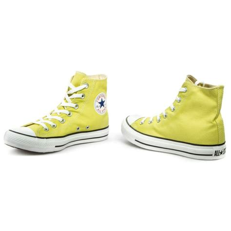 light yellow converse shoes sneakers converse ct hi c136812 light yellow sneakers