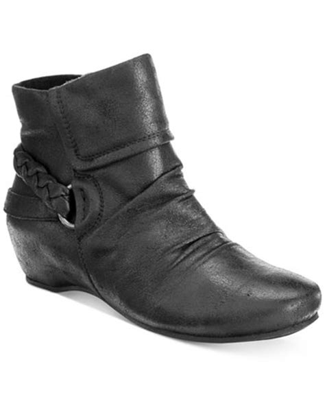 bare traps sana wedge booties boots shoes macy s