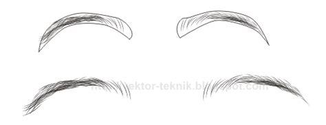 tutorial menggambar alis mata tutorial menggambar alis mata bayi vector menggambar