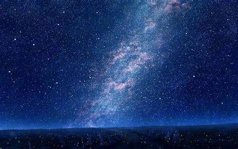 Wallpaper Langit Biru Malam   bintang wallpaper langit biru malam pohon langit