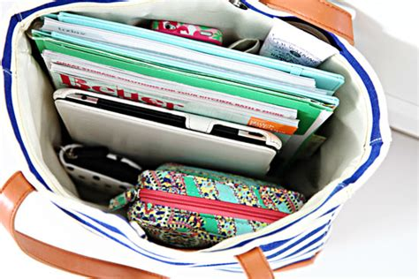 organize your work bag iheart organizing the traveling