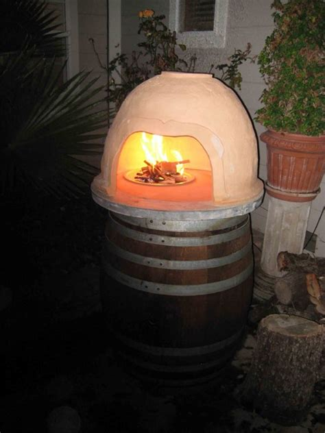 clay pizza oven contemporary outdoor grills san