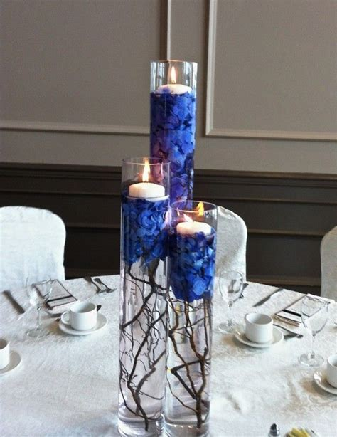 17 best ideas about royal blue centerpieces on royal blue wedding decorations royal