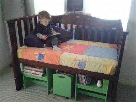 Diy Recycler Et Transformer Un Berceau Shoji Turn Crib Into Toddler Bed