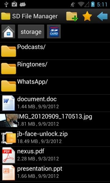 android install apk without file manager sd file manager 1 0 9 apk for android softstribe