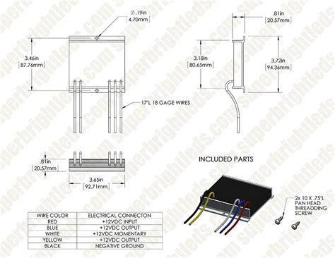 sho me led light bar sho me light bar wiring diagram sho me amber mini light