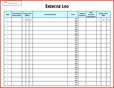 running log template 12 running log excel template exceltemplates