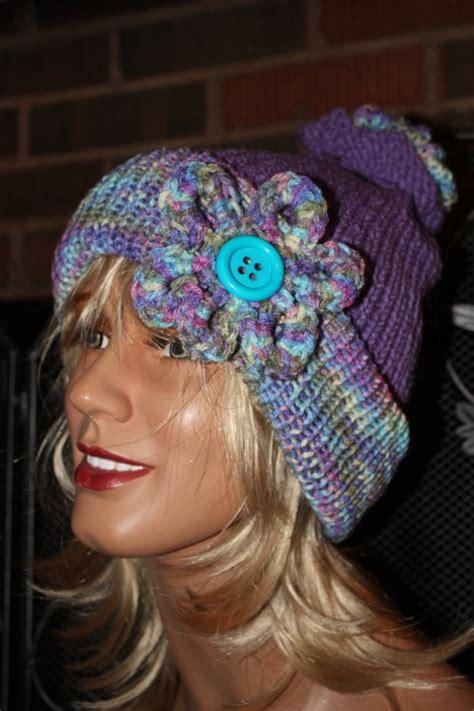 beautiful handmade warm winter hats